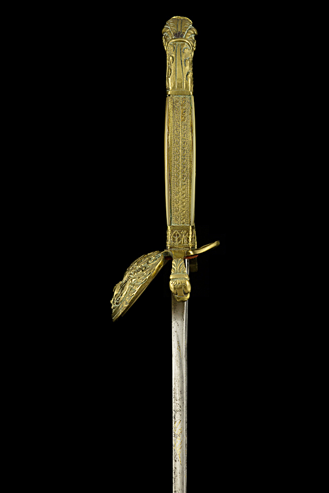 S000014_French_Louis-Philippe_Smallsword_Hilt_Left_Side