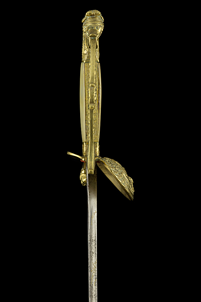 S000014_French_Louis-Philippe_Smallsword_Hilt_Right_Side
