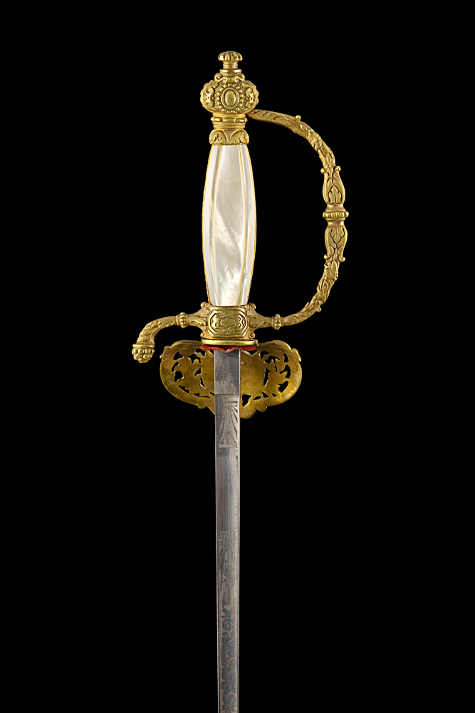 S000040_French_St-Etienne_Smallsword_Hilt_Reverse_