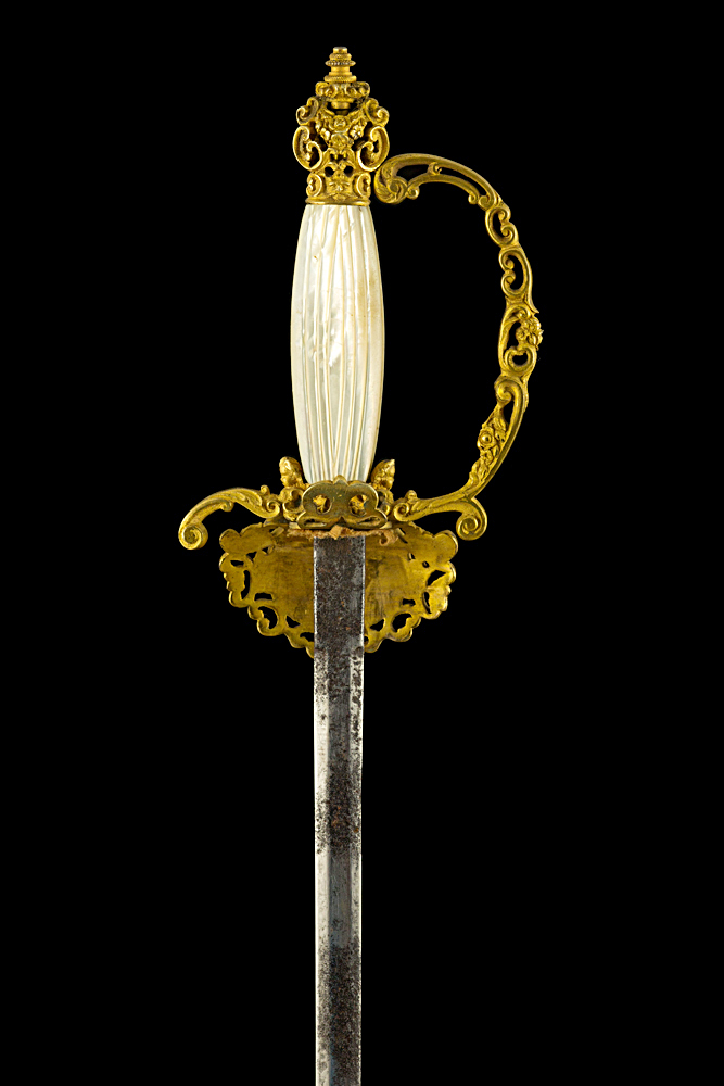 S000050_Spanish_Smallsword_Hilt_Reverse_