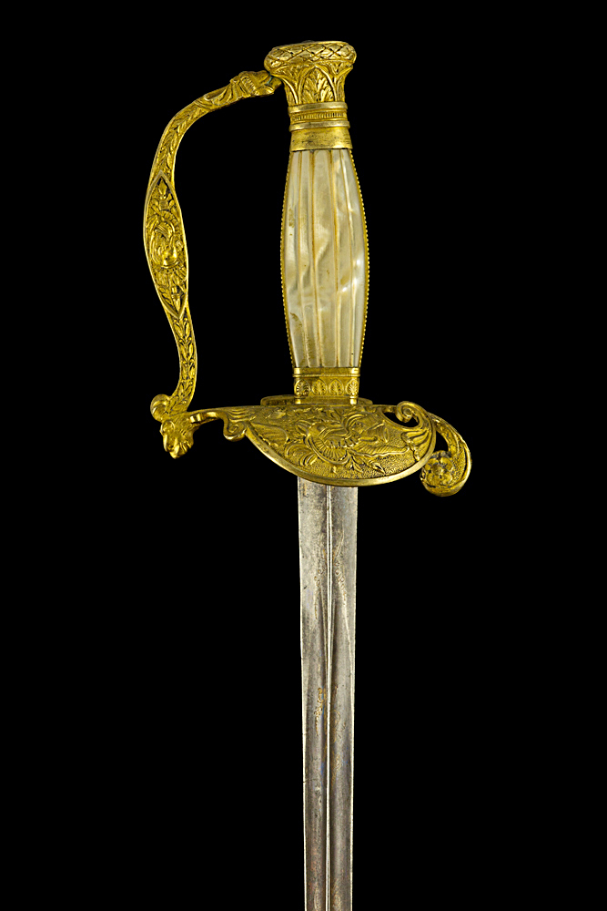 S000099_French_Smallsword_Hilt_Obverse_