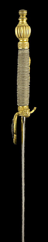 S000103_Scottish_Court_Smallsword_Hilt_Left_Side