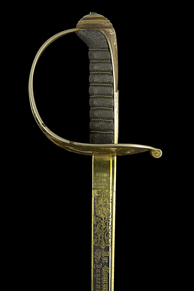 S000112_Belgian_Majoor_Albrecht_Sword_Hilt_Left_Side