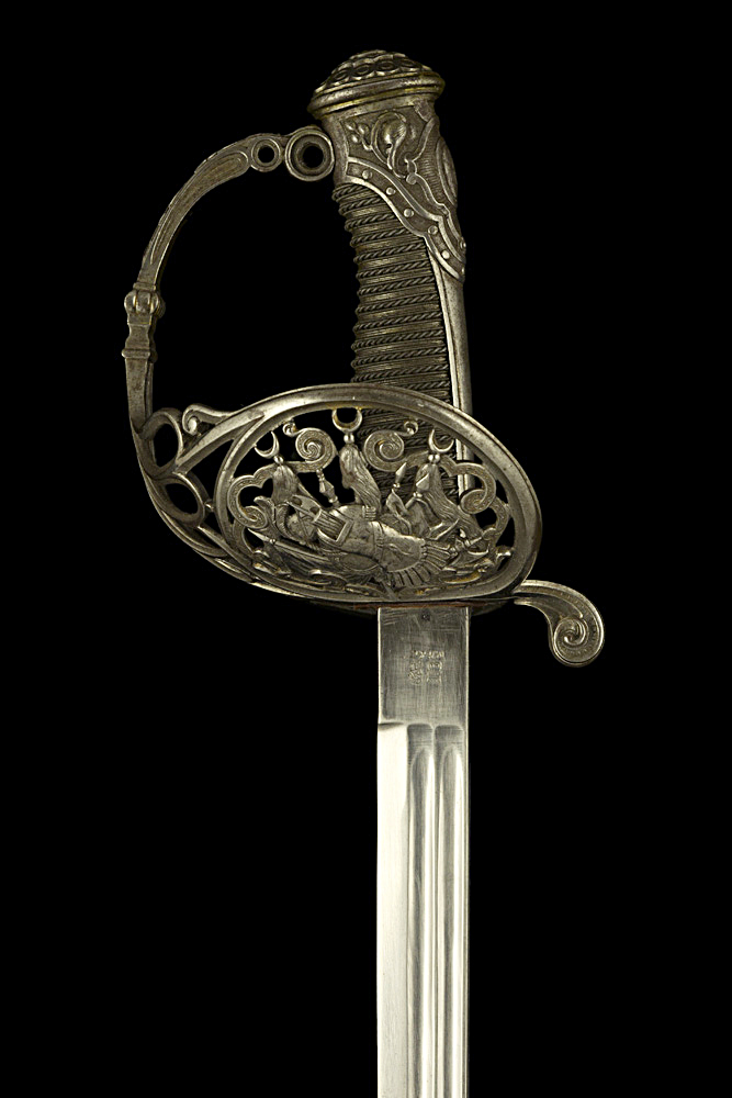 S000127_French_Presentation_Sword_Hilt_Obverse_