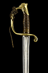 S000027_French_Model_1845_Sword_Hilt_Obverse