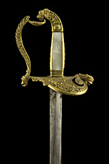 S000089_French_1st_Empire_Smallsword_Hilt_Obverse