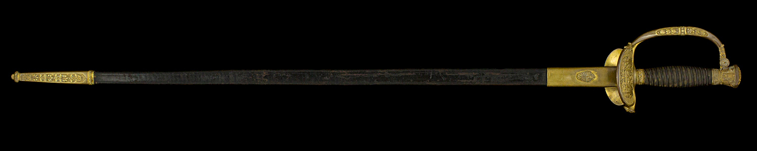 S000059_Belgian_Smallsword_Full_Obverse_With_Scabbard