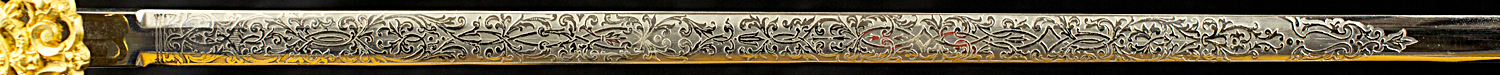 S000063_Belgian_Civil_Servant_Smallsword_Detail_Blade_Obverse