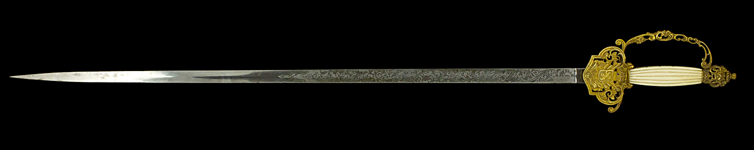 S000078_Belgian_Court_Sword_Full_Obverse_