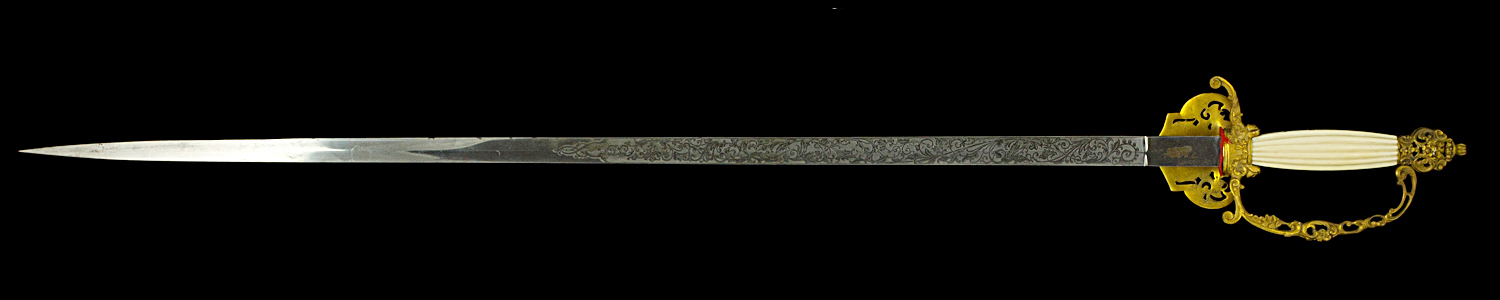 S000078_Belgian_Court_Sword_Full_Reverse_
