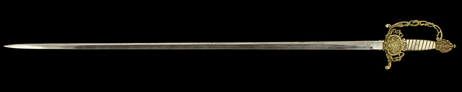 S000093_Belgian_Wired_Grip_Court_Sword_Full_Obverse_