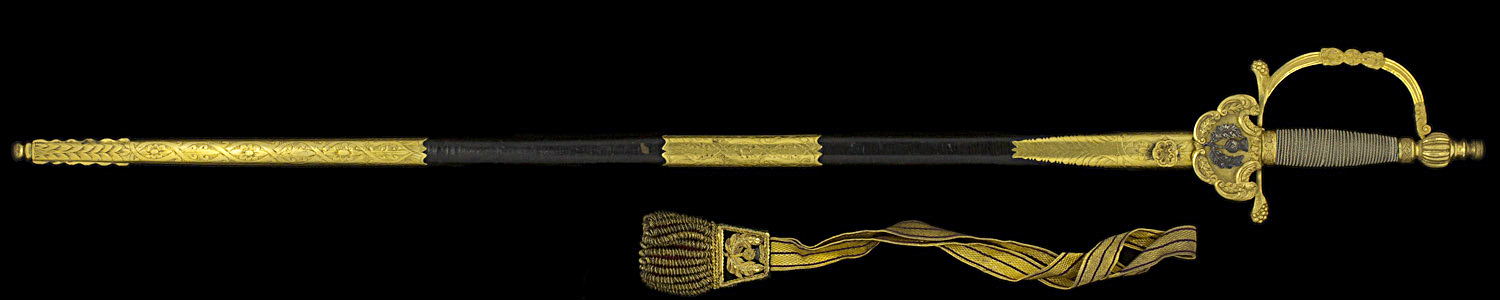 S000103_Scottish_Court_Smallsword_Full_Obverse_With_Scabbard