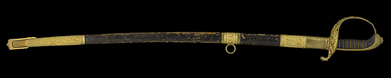 S000131_Austrian_Sabre_Full_Obverse_With_Scabbard
