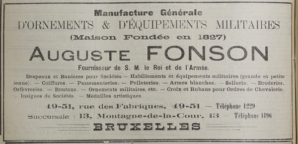 Fonson Family Add 1900